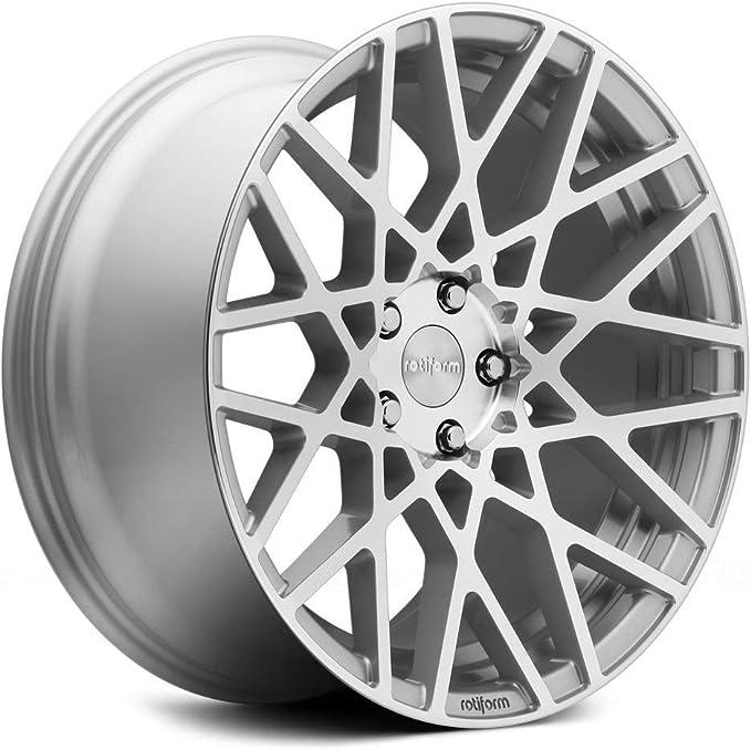 QTY 1 35 Gloss Silver Wheel 5x112 5x114.3 Rotiform LAS-R 19x8.5