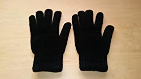 Nice gloves, Thick knit, Flexible feel