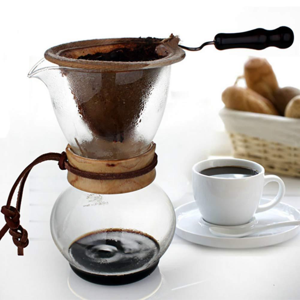 Acquisto AIMCAE Caffettiera a Goccia Regalo di Vetro Resistente al Calore della Macchina per caffè del Filtro dalla Flanella di Alta qualità per Gli Amanti del caffè Prezzi offerta