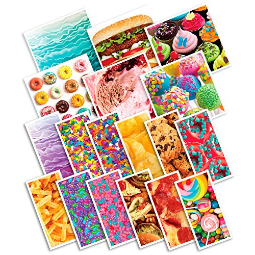 RoseArt Food Fun Graphic Skinz Girls Refill