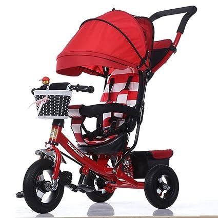 QXMEI Triciclos para Niños Coches para Niños Bicicletas para Bebés 1-3-5 Años