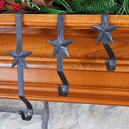 Park Designs Wrought Iron Star Stocking Hanger 4