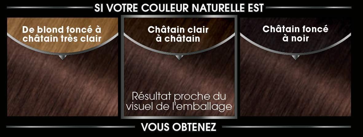 Garnier Olia 4.8 Mocha Coloración Permanente Intense Sans ammoniaque – – Juego de 2