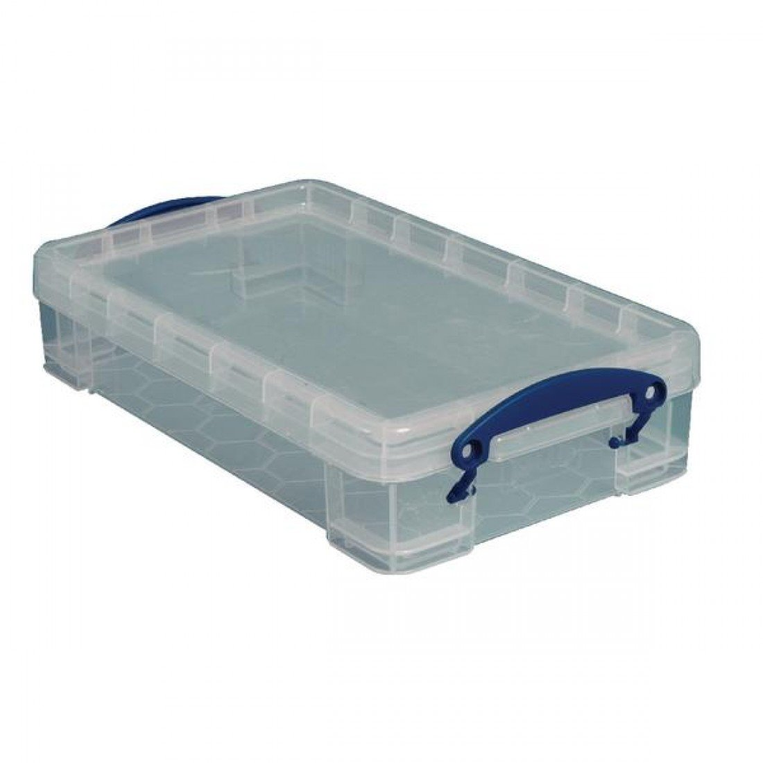 2.5 Liters Clear 13 3//8 x 8 x 2 3//4 Really Useful Box Plastic Storage Box