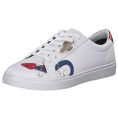da3e094a1957 Tommy Hilfiger Damen Sneaker Low-Top weiß Größe 39  Amazon.de ...