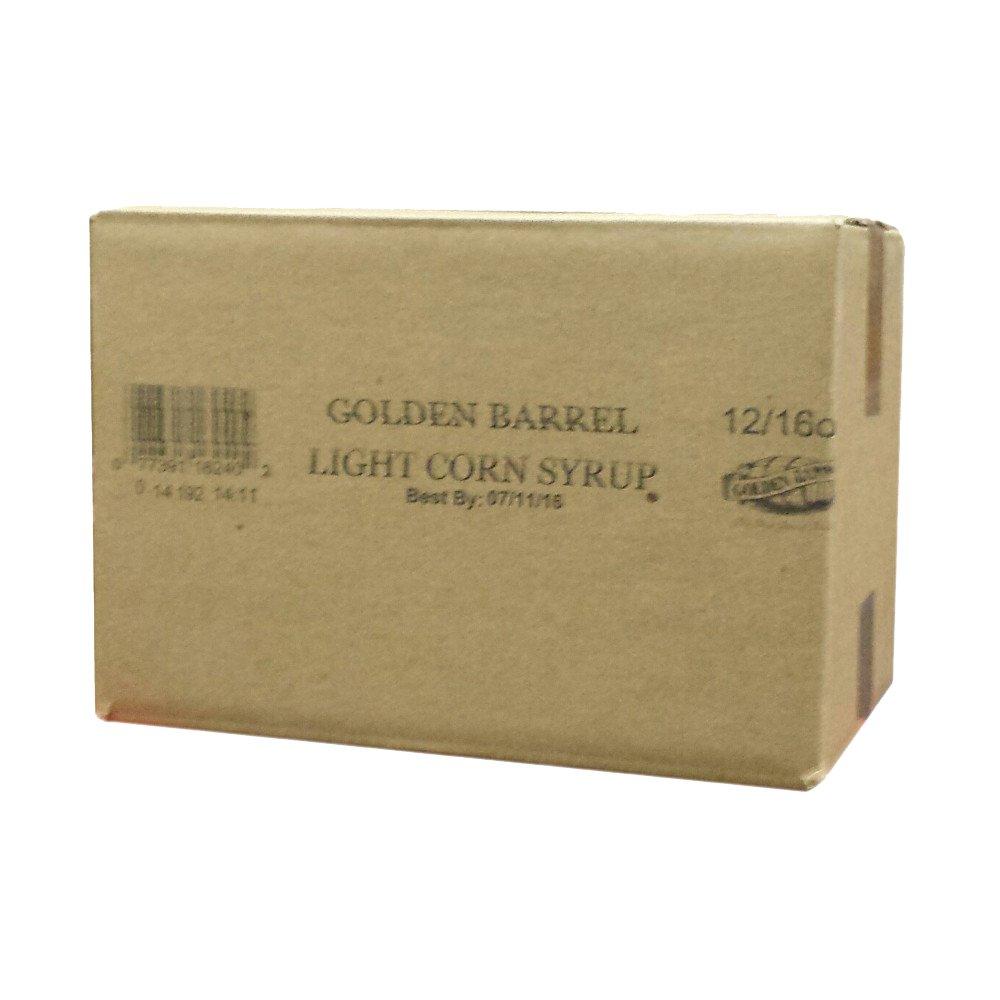 Golden Barrel Light Corn Syrup (12/16 oz Case) by Golden Barrel