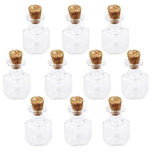 stk e shop  STK e-Shop - Mini bottigliette in vetro con tappo in sughero, forma ...
