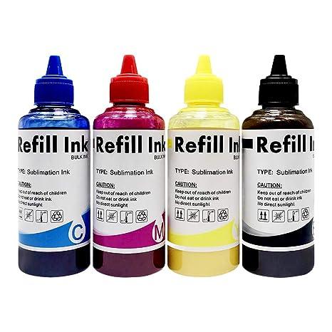 Amazon.com: Subnnur - Tinta de sublimación para impresoras ...