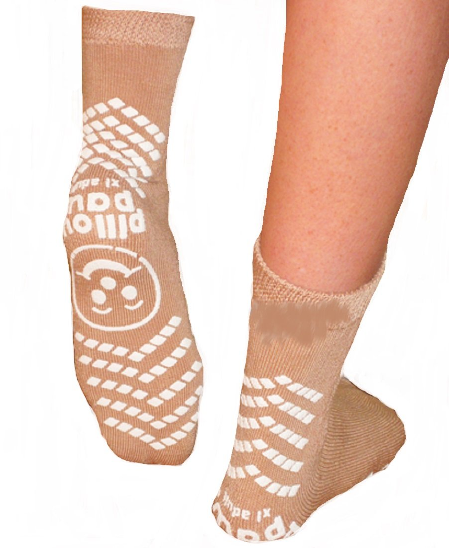 Principle Business Enterprises Double Imprint Terries Slipper Socks extra large adult - 48 Pair by Principle Business Enterprises