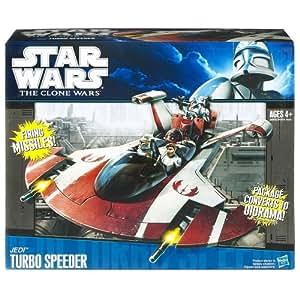 Hasbro Star Wars Naves Turbo Speeder - Nave espacial de juguete de La Guerra de las Galaxias