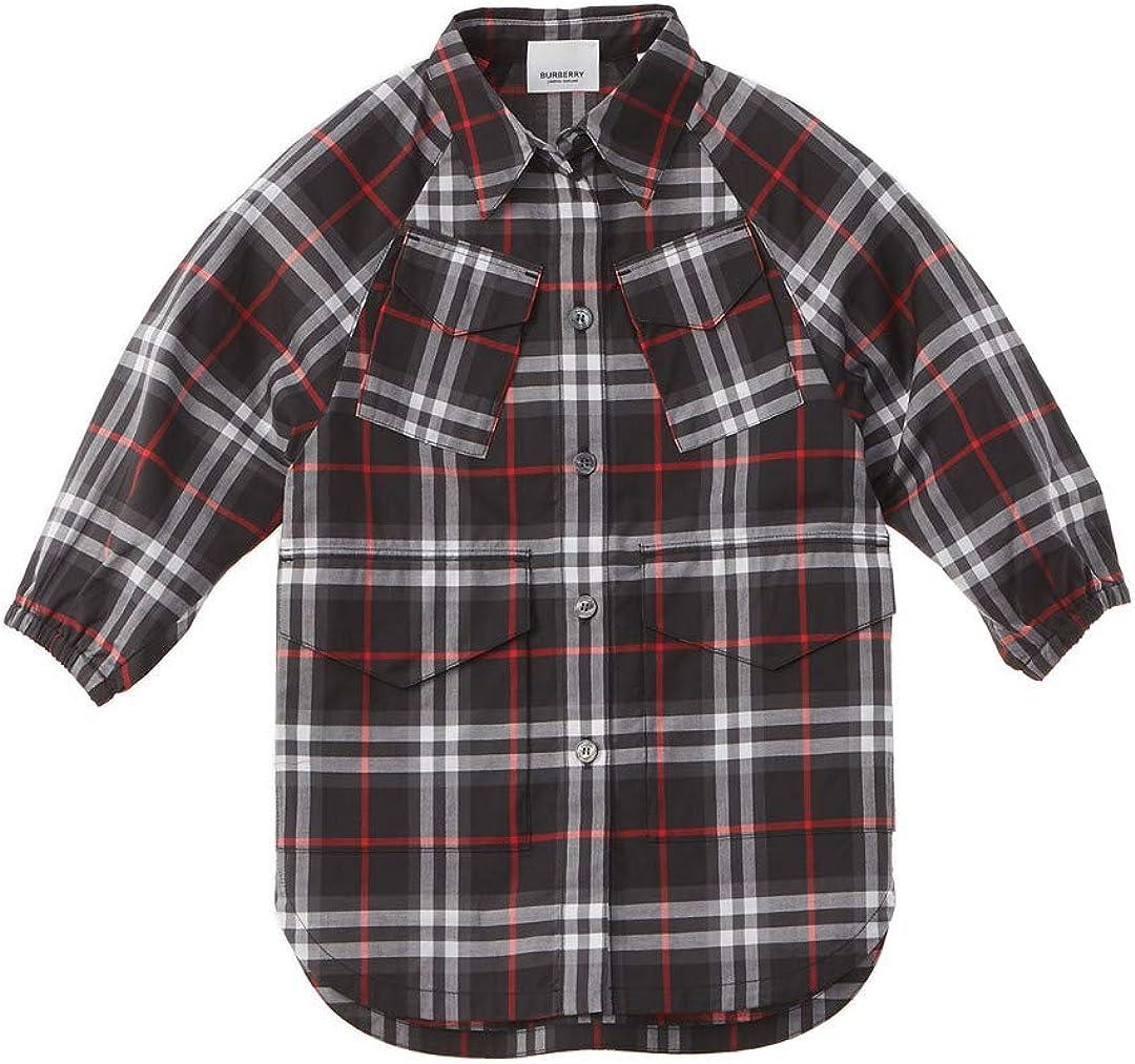 Burberry Camisa tejida a cuadros para niños, 14Y, color negro: Amazon.es: Ropa y accesorios