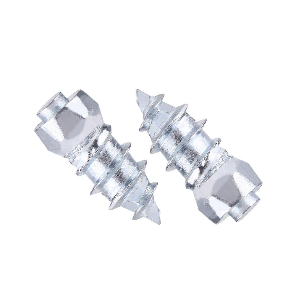 15 mm 0,59Rad boulons de pneus vis de neige Lot de 100 vis pour pneus de voiture avec boulons de pneus pour voiture//camion//SUV//ATV