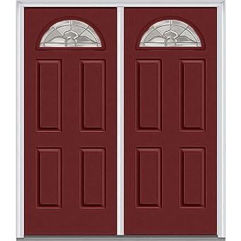 National Door Company Z015981L Fiberglass Smooth Burgundy Left Hand In-swing Exterior  sc 1 st  Amazon.com & National Door Company Z015981L Fiberglass Smooth Burgundy Left ...