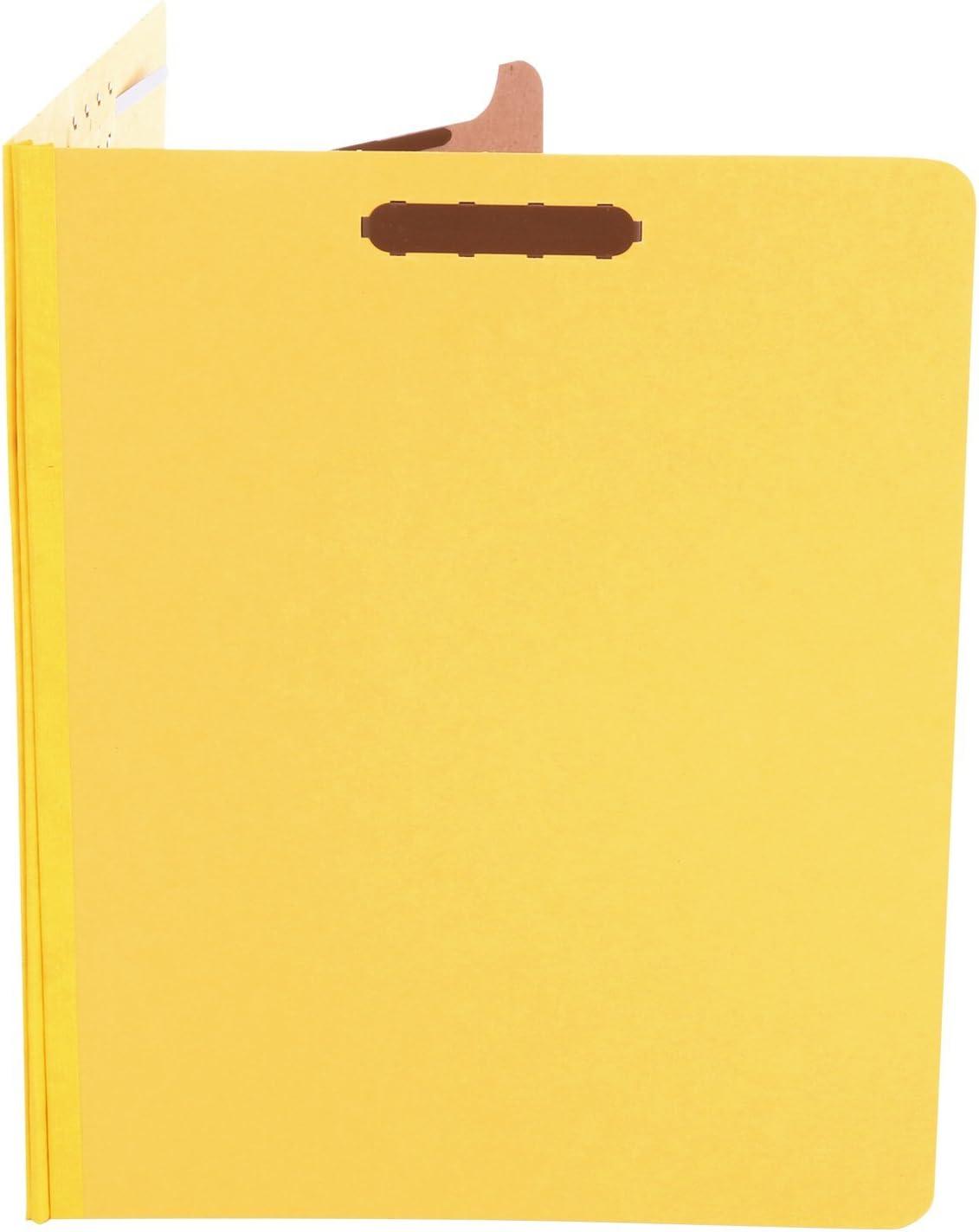 UNIVERSAL Pressboard Classification Folders Legal Four-Section Cobalt Blue 10