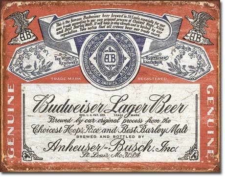 (The Finest Website Inc. Budweiser Lager Beer Bud 16