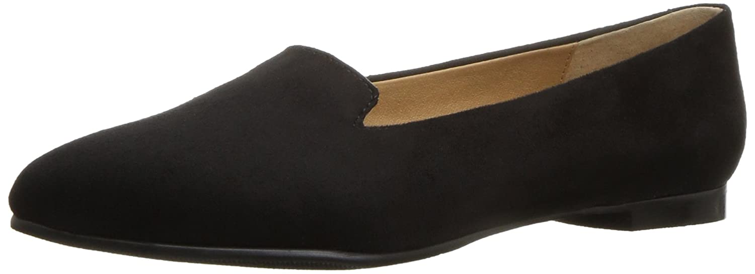 Trotters Women's Harlowe Pointed Toe Flat B01MZ201R9 6 B(M) US|Black