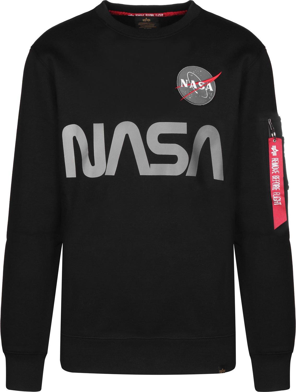 Alpha Industries Herren Sweatshirt schwarz L