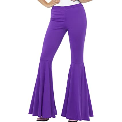 más vendido venta caliente famosa marca de diseñador Pantalones de Campana Años 70 - S/M (ES 36 - 42 ...