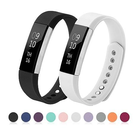 Kutop Fitbit Alta HR Bracelet, Remplacement du Bracelet de Montre en TPU Silicone Molle,Sportif et Réglable pour Fitbit Alta/Alta HR: Amazon.fr: Sports et ...
