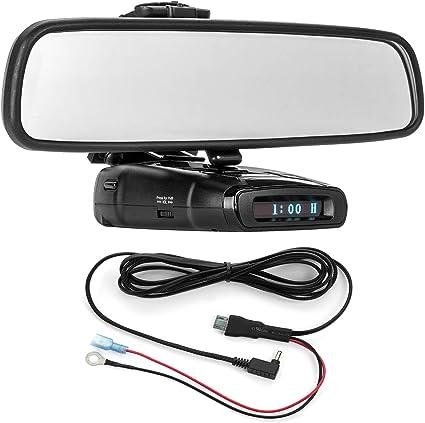 Mirror Wire Power Cord for Escort IX EX Max360C 3001107 Radar Mount Mirror Mount Bracket