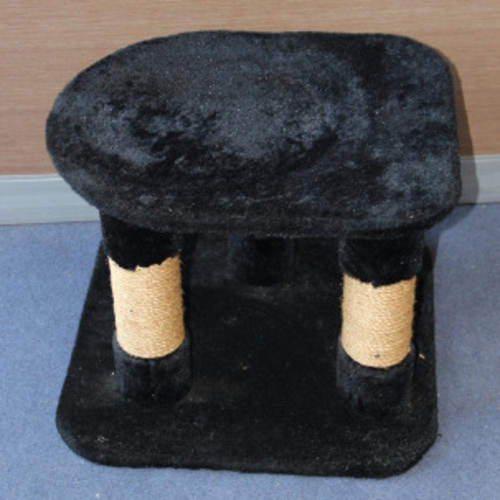 Deluxe Multi Cat Tower cat Trees Towers Cat-Tree Kitten Stool 51  51  39cm Plush