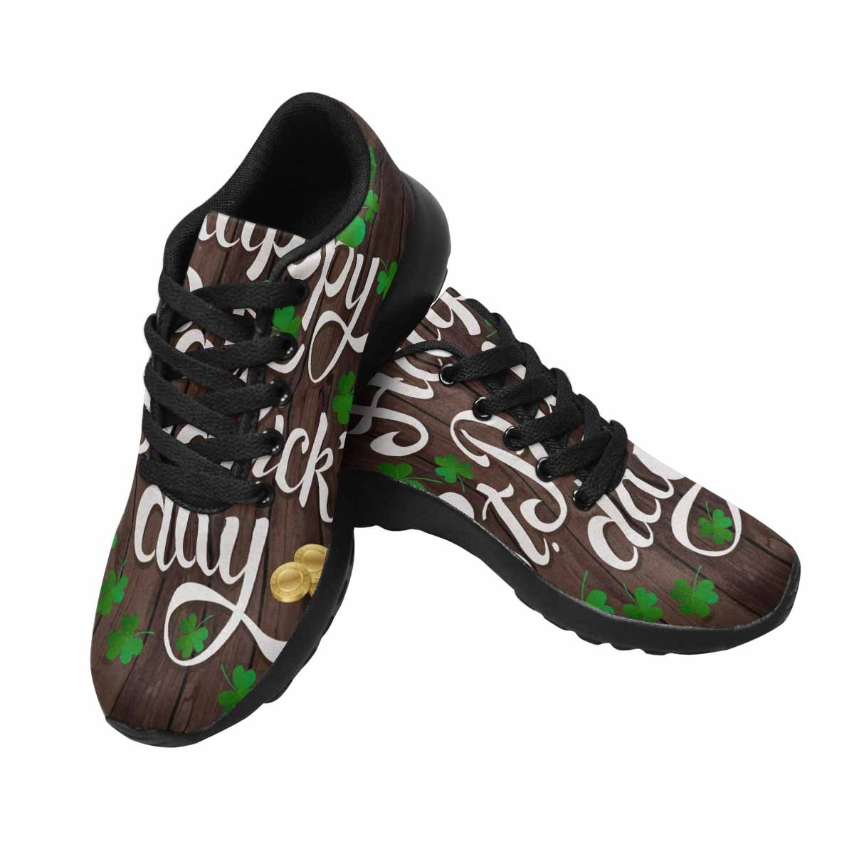 InterestPrint Women's Go Easy Walking Comfort Sports Athletic Shoes Happy St, Patrick's Day US 7