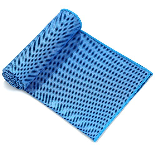 Cooling Sports Towel Review: Cooling Towel For Sports, Workout, Fitness, Gym, Yoga