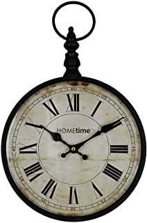 pocket watch design wall clock by hometime