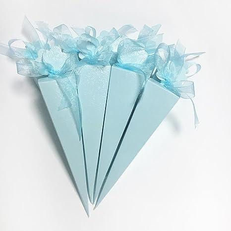 50 x caja recuerdos cajas regalo bombones boda baby shower cumpleaños graduación Navidad comunión partido o