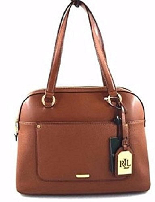 2ba28f11cdc50 Lauren by Ralph Lauren Fulton Dome Satchel - ST Lauren Tan  Handbags   Amazon.com