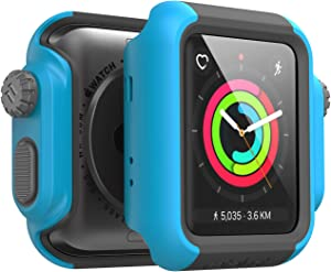 Designed for Apple Watch Impact Case 42mm Series 3 & 2 Rugged Protective Case by Catalyst, Drop Proof Shock Proof Impact Resistant Designed for Apple Watch Case, Teal