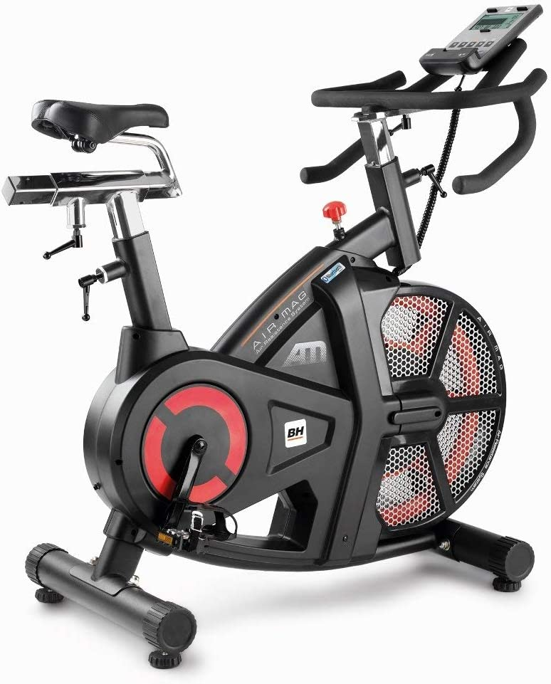 BH Fitness - Bicicleta Indoor i.airmag Semi Prof (Reacondicionado ...