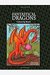 Fantastical Dragons: Coloring Book by Tabitha Ladin (2009-01-22) Paperback