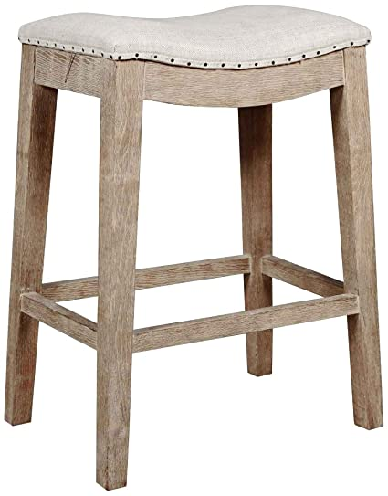 Miraculous Amazon Com Harper 27Quot Stone Wash French Linen Counter Gmtry Best Dining Table And Chair Ideas Images Gmtryco
