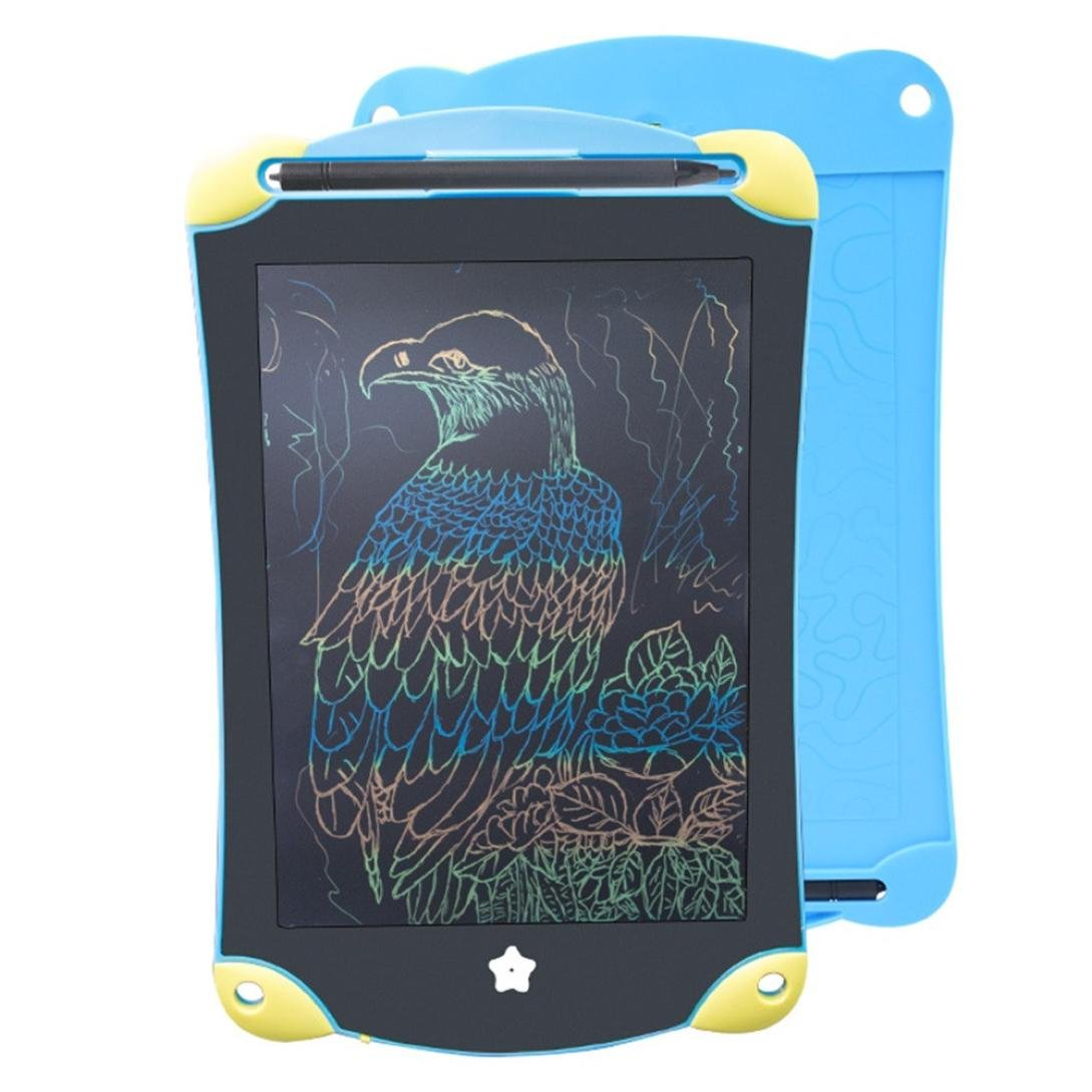 [Writing Board] 8.5inch LCD Color Paperless Memo Pad Tablet Writing Drawing Graphics Board (Black)