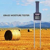 grau, WEIWEITOE MD-4G 4 Pins Digital LCD Holzfeuchtigkeitsmessger/ät Analyzer Hygrometer Holz Feuchtigkeitsmessger/ät Tester Bereich 5/% 40/%