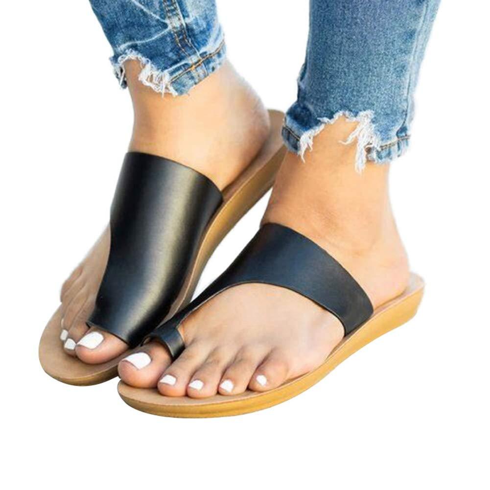 Sandalias para Las Mujeres 2019 Nuevo De Las Mujeres C/ómoda Sandalia De La Plataforma Calza Los Zapatos De La Playa De Viajes para El Verano