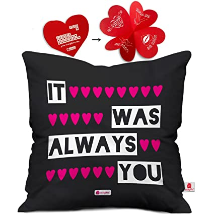 Buy Valentine Gifts For Boyfriend Girlfriend Expressing Love Printed