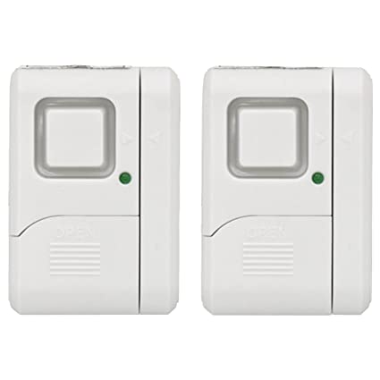 GE Personal Security Window/Door Alarm DIY Home Protection Burglar Alert Magnetic  sc 1 st  Amazon.com & GE Personal Security Window/Door Alarm DIY Home Protection Burglar ...