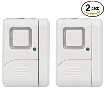 GE Personal Security Window/Door Alarm (2 pack), 45115 - Household ...