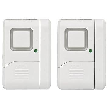 GE Personal Security Window/Door Alarm DIY Home Protection Burglar Alert Magnetic