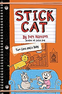 Book Cover: Stick Cat: Two Cats and a Baby