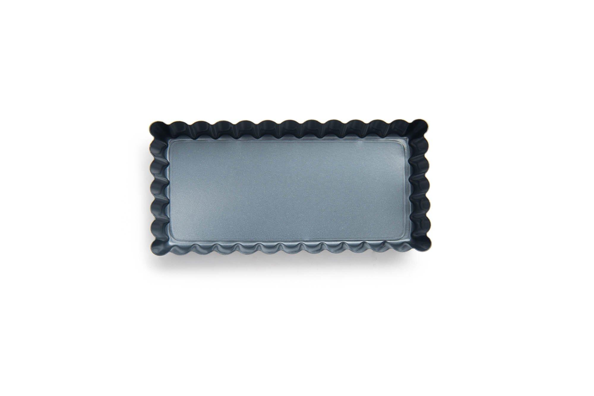 Fox Run 44491 Mini Rectangular Loose Bottom Tart/Quiche Pan, Preferred Non-Stick, 4.5-Inch