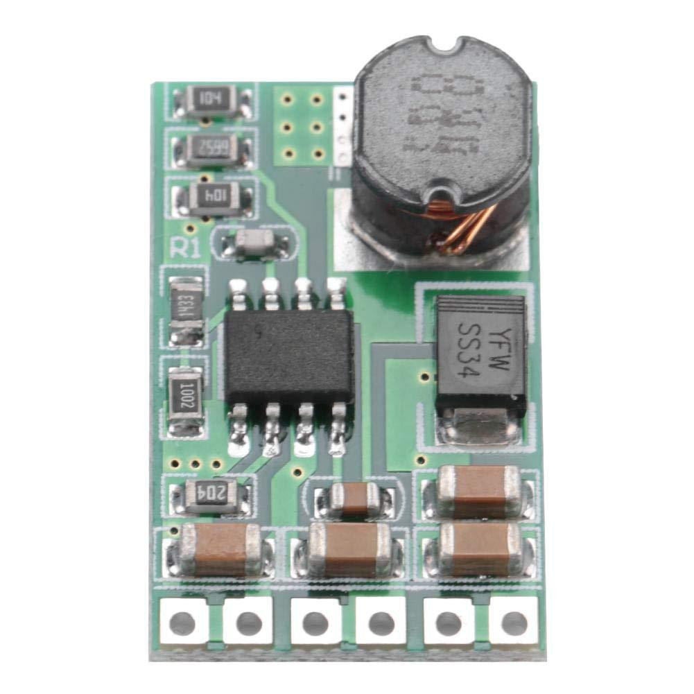 Módulo del regulador voltaje mini DC-DC 5-27V a 3.7V / 5V / 9V / 12V, regulador de tensión, bajas el voltaje(5V)