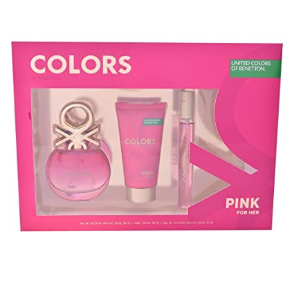 BENETTON ESTUCHE COLORS PINK: Amazon.es: Belleza