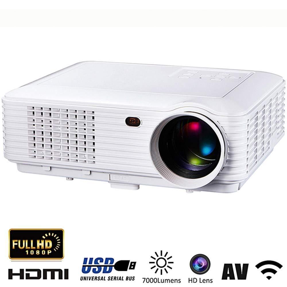 Mini proyectores Proyector WiFi portátil, 2800 lúmenes 1080P LED ...