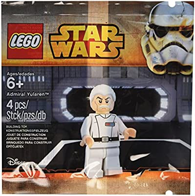 Lego First Order General Admiral 5004406 Polybag Star Wars Minifigure