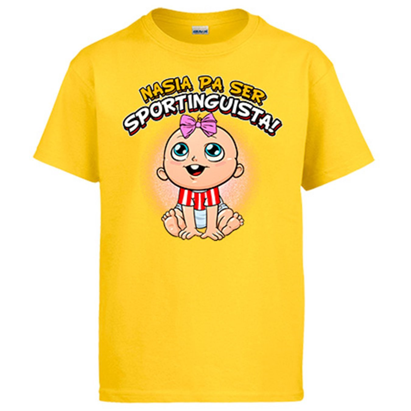Diver Camisetas Camiseta Nacida para ser Sportinguista Sporting Gijón fútbol: Amazon.es: Ropa y accesorios