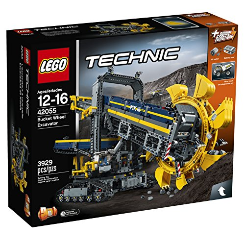 LEGO Technic 42055 Bucket Wheel Excavator Building Kit (3929 Piece)