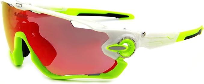 Queshark - Gafas de sol para ciclismo bicicleta, polarizadas, 3 ...